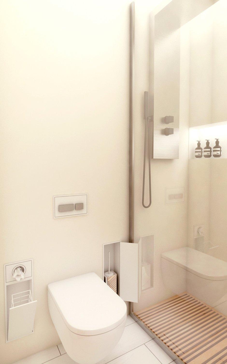Фотография: Ванная в стиле Современный, Восточный, Квартира, Дома и квартиры, Минимализм, Проект недели – фото на INMYROOM