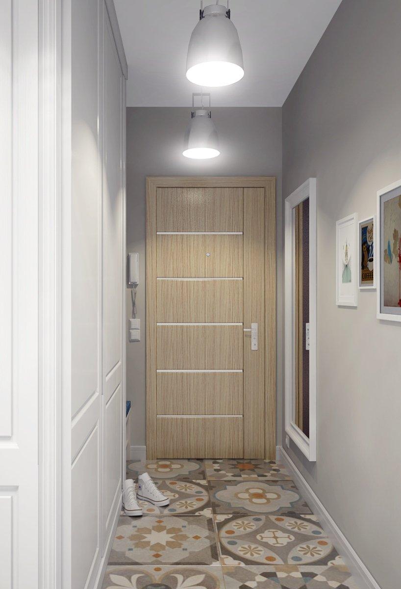 Фотография: Прихожая в стиле Современный, Квартира, Цвет в интерьере, Дома и квартиры, Белый, Проект недели – фото на INMYROOM