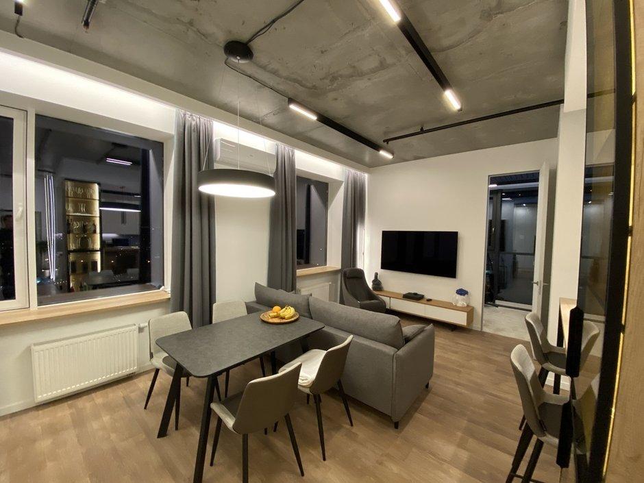 Фотография: Кухня и столовая в стиле Современный, Квартира, Проект недели, 2 комнаты, 40-60 метров, домклик, сбербанк страхование, Сбер, СберСтрахование – фото на INMYROOM