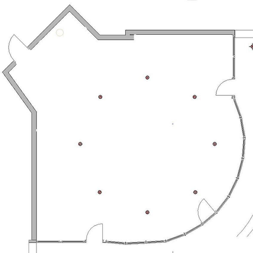 Фотография: Планировки в стиле , Эклектика, Квартира, Проект недели, Бежевый, Желтый, Голубой, 3 комнаты, 60-90 метров, Анна Акопян, Анапа – фото на INMYROOM