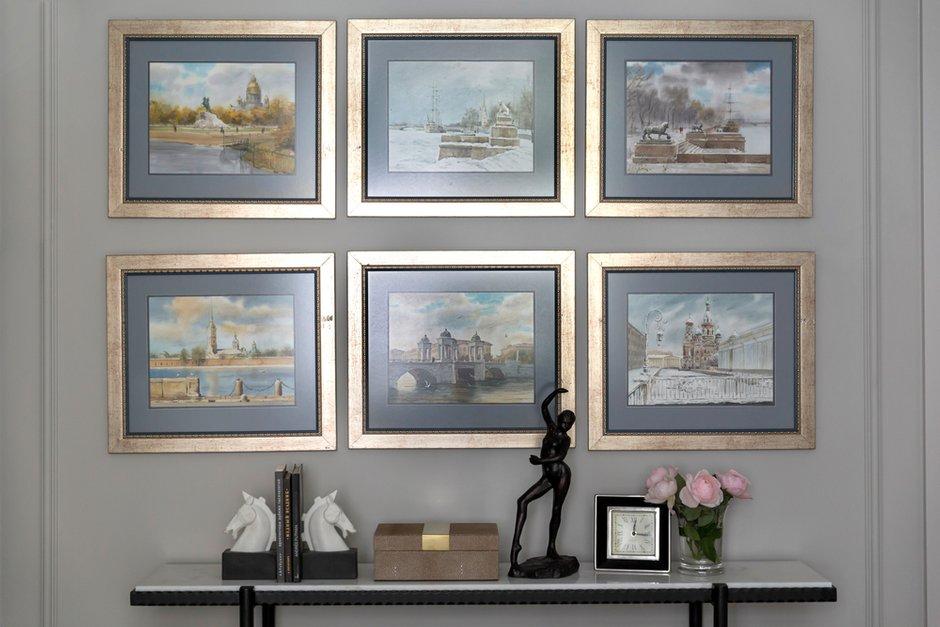Фотография: Декор в стиле Классический, Квартира, Проект недели, Москва, Марина Филиппова, 2 комнаты, 60-90 метров, #эксклюзивныепроекты – фото на INMYROOM