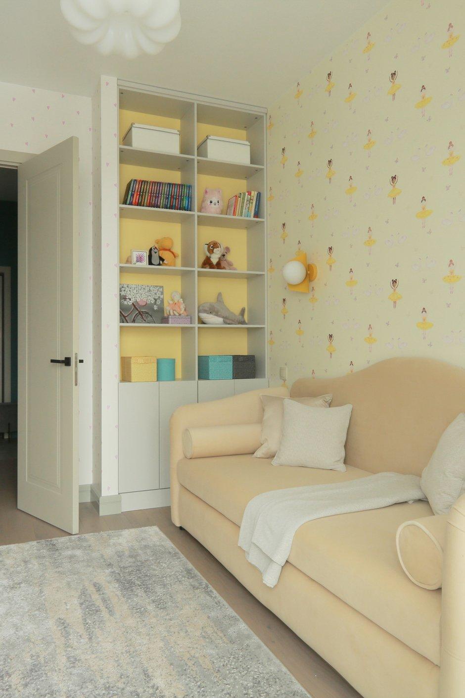 Фотография: Детская в стиле Современный, Квартира, Проект недели, Москва, 3 комнаты, 60-90 метров, Ирина Сагун – фото на INMYROOM