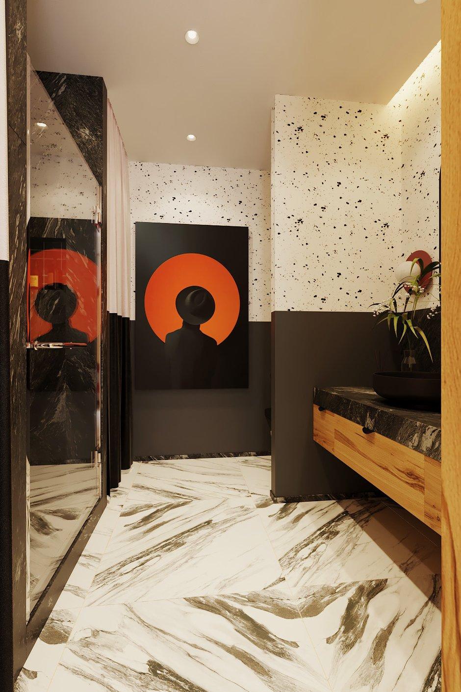 Фотография: Ванная в стиле Современный, Квартира, Студия, Проект недели, Екатеринбург, Александра Никулина, 40-60 метров – фото на INMYROOM