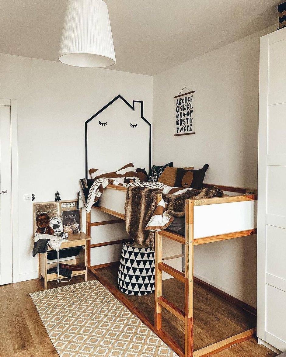 Фотография: Детская в стиле Скандинавский, Квартира, Проект недели, 3 комнаты – фото на INMYROOM