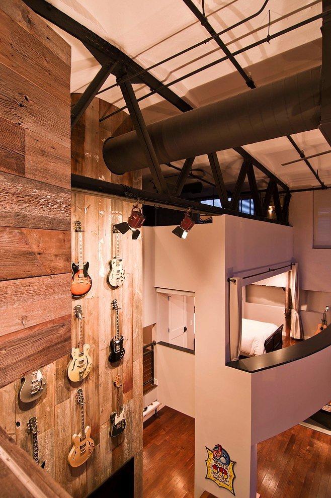 Фотография: Архитектура в стиле Лофт, Квартира, Дома и квартиры – фото на INMYROOM
