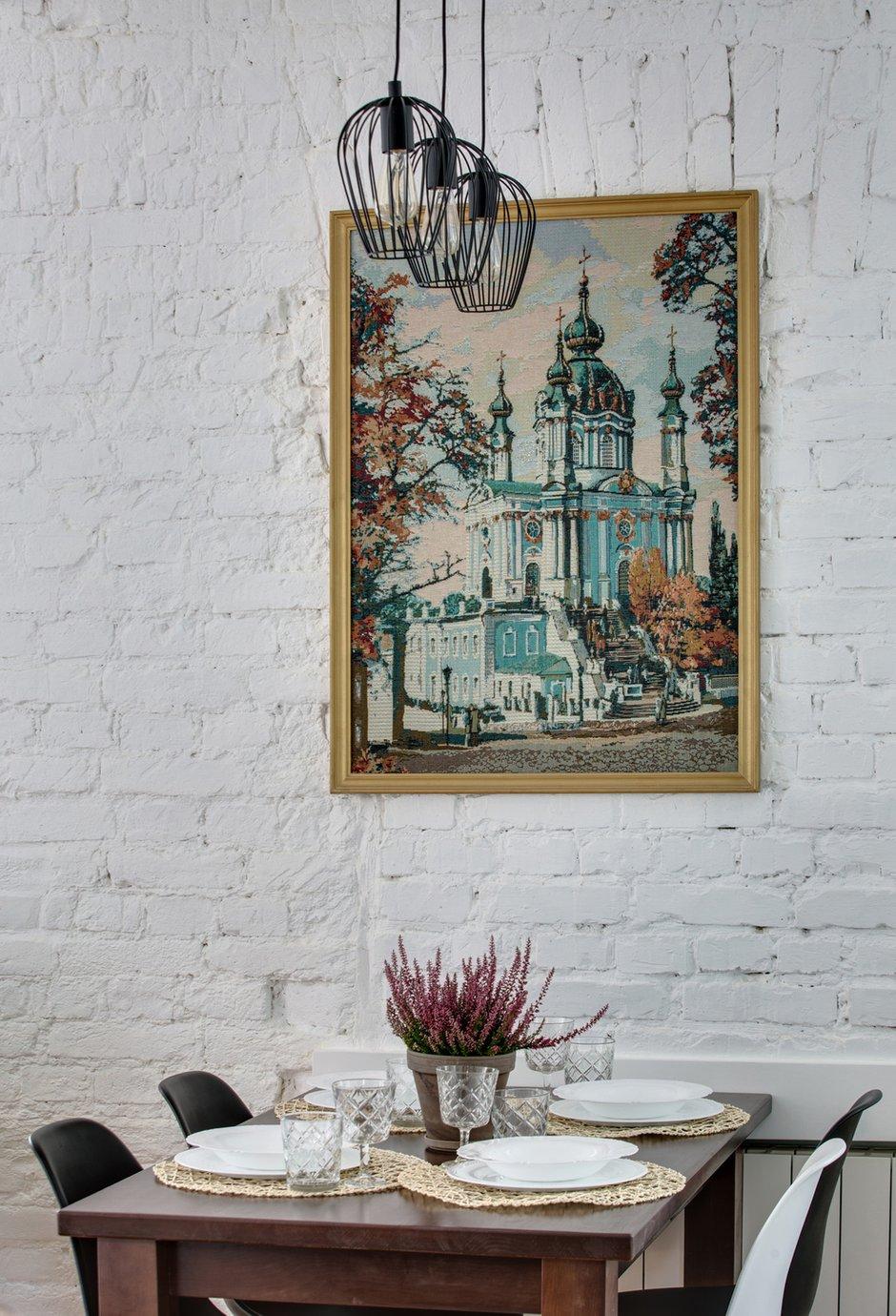 Фотография: Кухня и столовая в стиле Скандинавский, Эклектика, Малогабаритная квартира, Квартира, Проект недели, Киев, Старый фонд, Кирпичный дом, Майя Баклан, 2 комнаты, 40-60 метров – фото на INMYROOM