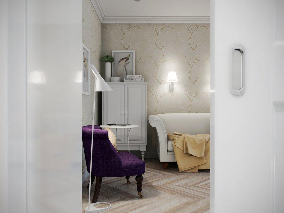 Фотография: Гостиная в стиле Прованс и Кантри, Эклектика, Современный, Квартира, Проект недели – фото на INMYROOM