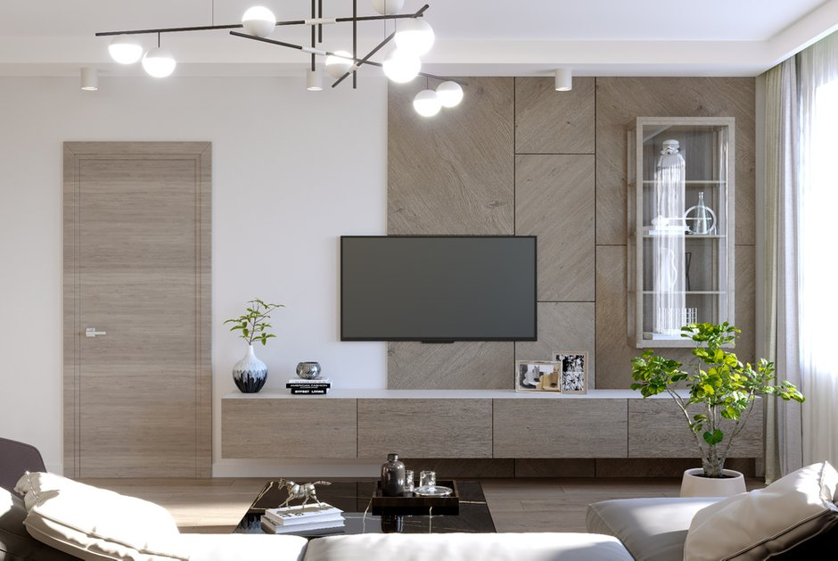 Фотография: Гостиная в стиле Современный, Декор интерьера, Квартира, Москва, 3 комнаты, Более 90 метров, Тор-Ард – фото на INMYROOM