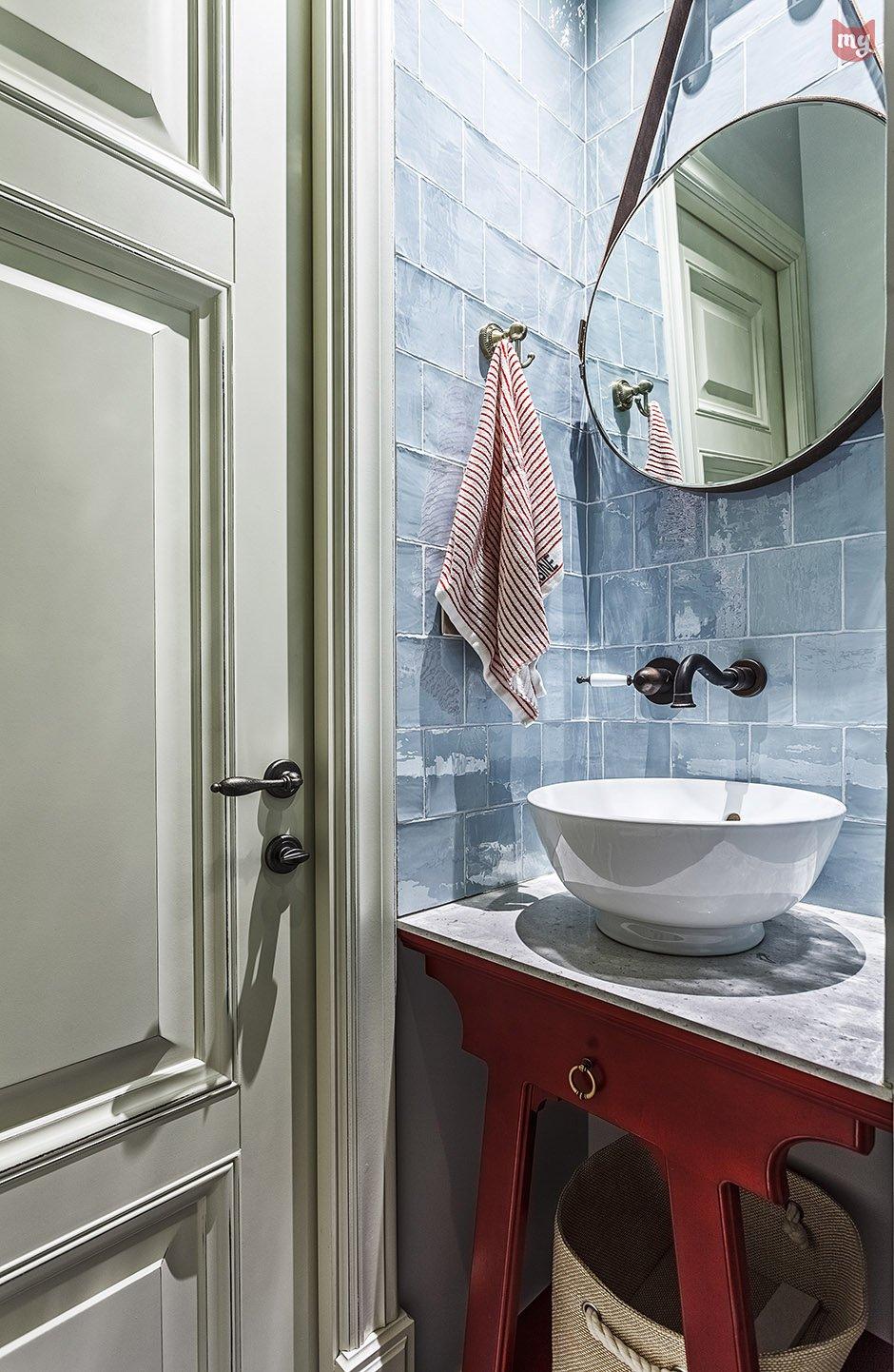 Фотография: Ванная в стиле Современный, Квартира, Проект недели, Наталья Сорокина – фото на INMYROOM