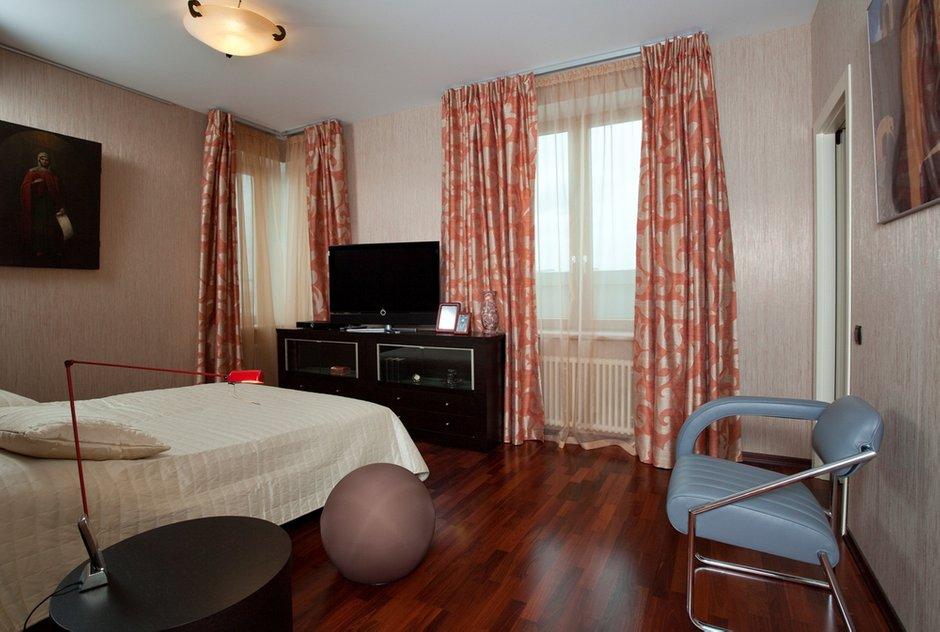 Фотография: Спальня в стиле , Квартира, Дома и квартиры, Пентхаус – фото на INMYROOM