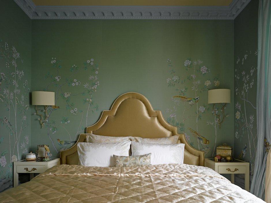 Фотография: Спальня в стиле Современный, Классический, Эклектика, Квартира, Текстиль, Дома и квартиры – фото на INMYROOM