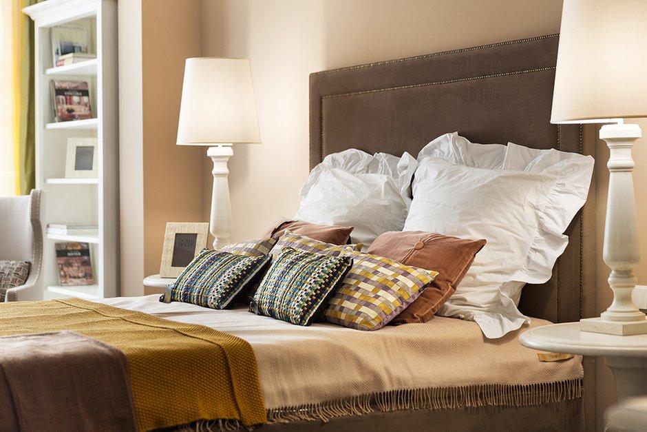 Фотография: Спальня в стиле Прованс и Кантри, Классический, Эклектика, Квартира, Дома и квартиры – фото на INMYROOM
