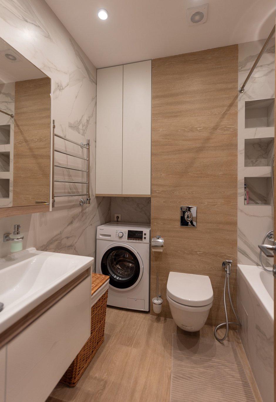 Фотография: Ванная в стиле Современный, Квартира, Проект недели, Москва, 2 комнаты, 40-60 метров, Елена Богдан – фото на INMYROOM