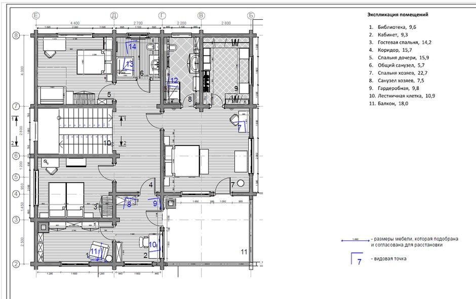 Фотография: Планировки в стиле , Дом, Подмосковье, Дом и дача, 4 и больше, Более 90 метров, Мария Бердникова – фото на INMYROOM