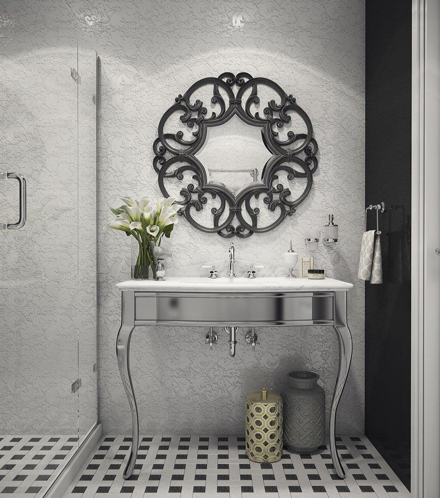 Фотография: Ванная в стиле Классический, Квартира, Россия, Eichholtz, Проект недели, Санкт-Петербург, NOVAMOBILI, Ralph Lauren, Наташа Янсон, I Am Home, Baker Furniture – фото на INMYROOM