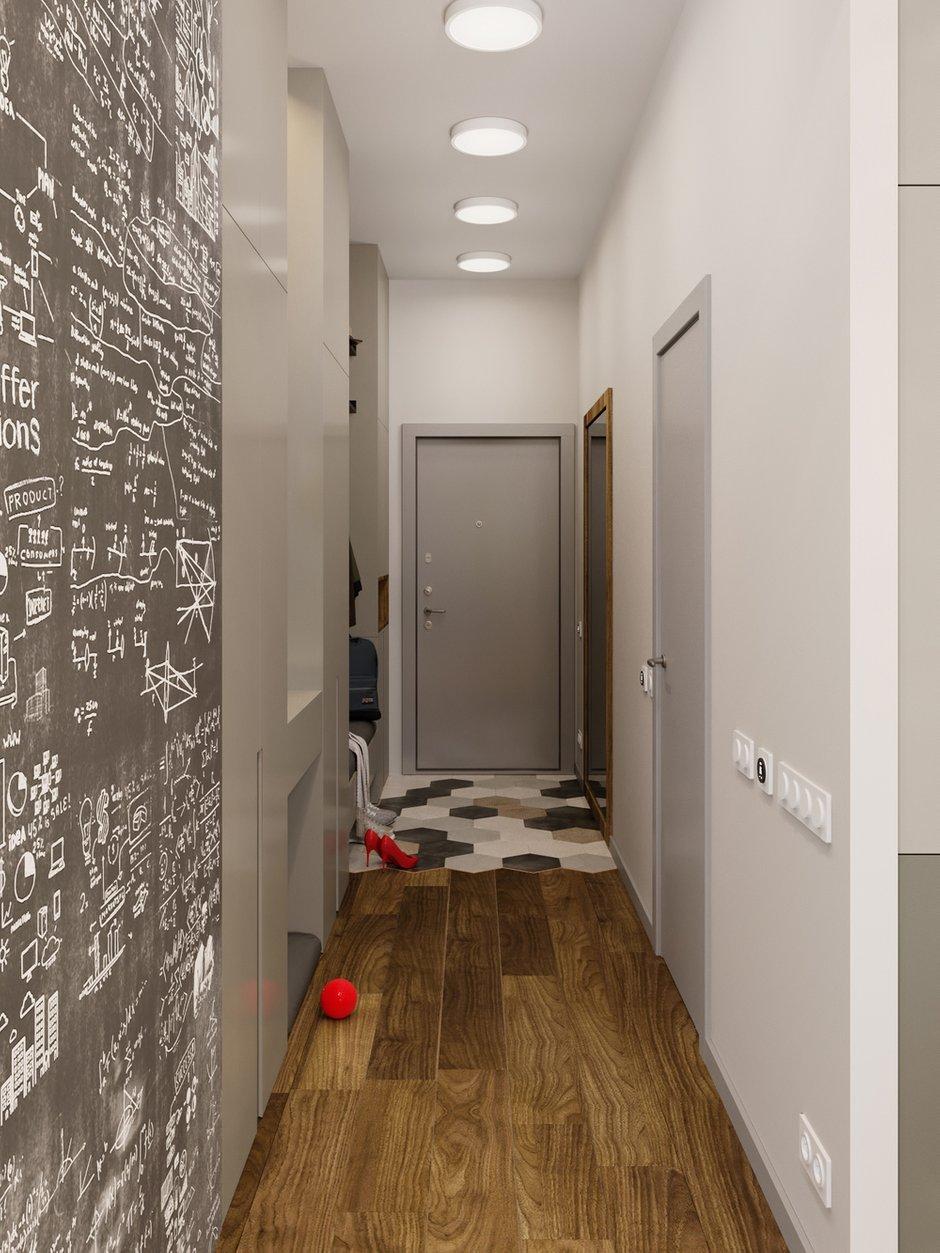 Фотография: Прихожая в стиле Современный, Квартира, Проект недели, Московская область, 3 комнаты, 60-90 метров, Екатерина Саламандра – фото на INMYROOM