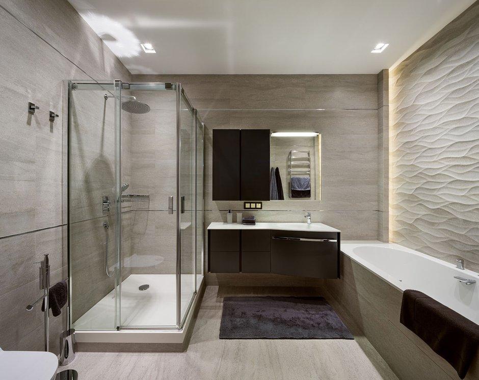Фотография: Ванная в стиле Современный, Эклектика, Квартира, Проект недели – фото на INMYROOM