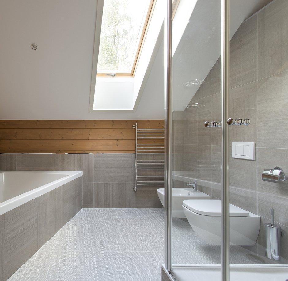 Фотография: Ванная в стиле Современный, Дом, 4 и больше, Более 90 метров, Студия TS Design, #эксклюзивныепроекты – фото на INMYROOM
