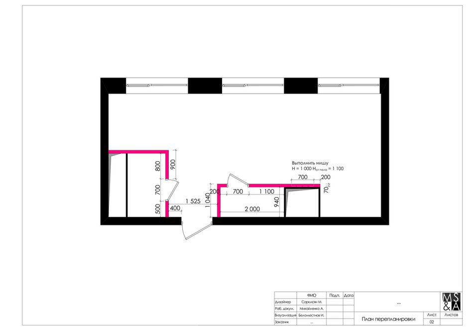Фотография: Планировки в стиле , Лофт, Малогабаритная квартира, Квартира, Студия, Проект недели, Москва, Марина Саркисян, Кирпичный дом, до 40 метров – фото на INMYROOM