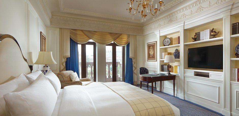 Фотография: Спальня в стиле Классический, Современный, Китай, Дома и квартиры, Городские места, Отель, Проект недели – фото на InMyRoom.ru
