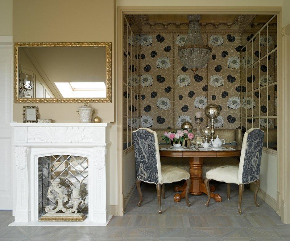 Фотография: Кухня и столовая в стиле , Классический, Эклектика, Квартира, Текстиль, Дома и квартиры – фото на INMYROOM