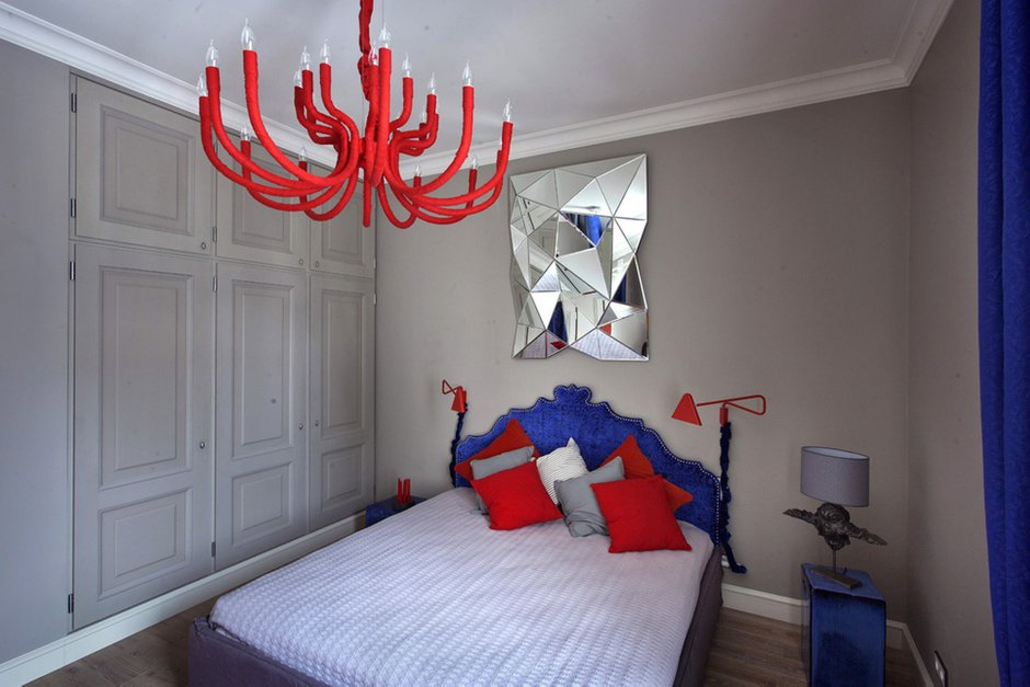 Фотография: Спальня в стиле Хай-тек, Классический, Квартира, Дома и квартиры, Проект недели – фото на INMYROOM