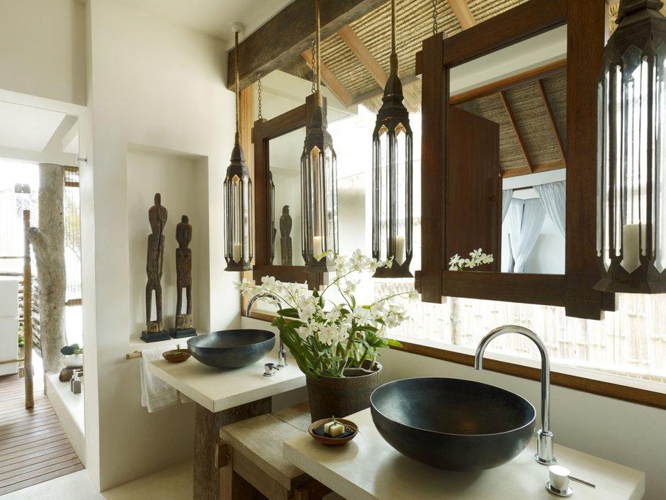 Фотография: Ванная в стиле Прованс и Кантри, Современный, Дом, Дома и квартиры, Отель – фото на INMYROOM