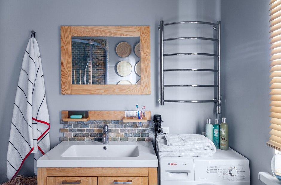 Фотография: Ванная в стиле Современный, Классический, Эклектика, Дом, Проект недели – фото на InMyRoom.ru