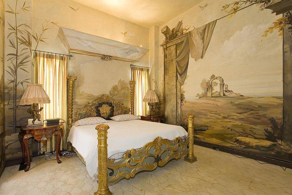 Фотография: Спальня в стиле Классический, Современный, Квартира, Терраса, Дома и квартиры, Камин, Пентхаус, Ар-деко – фото на INMYROOM