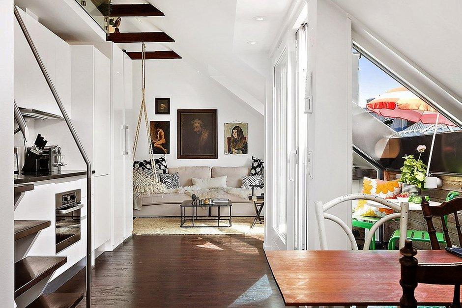 Фотография: Кухня и столовая в стиле Скандинавский, Декор интерьера, Малогабаритная квартира, Квартира, Дома и квартиры, Минимализм – фото на INMYROOM