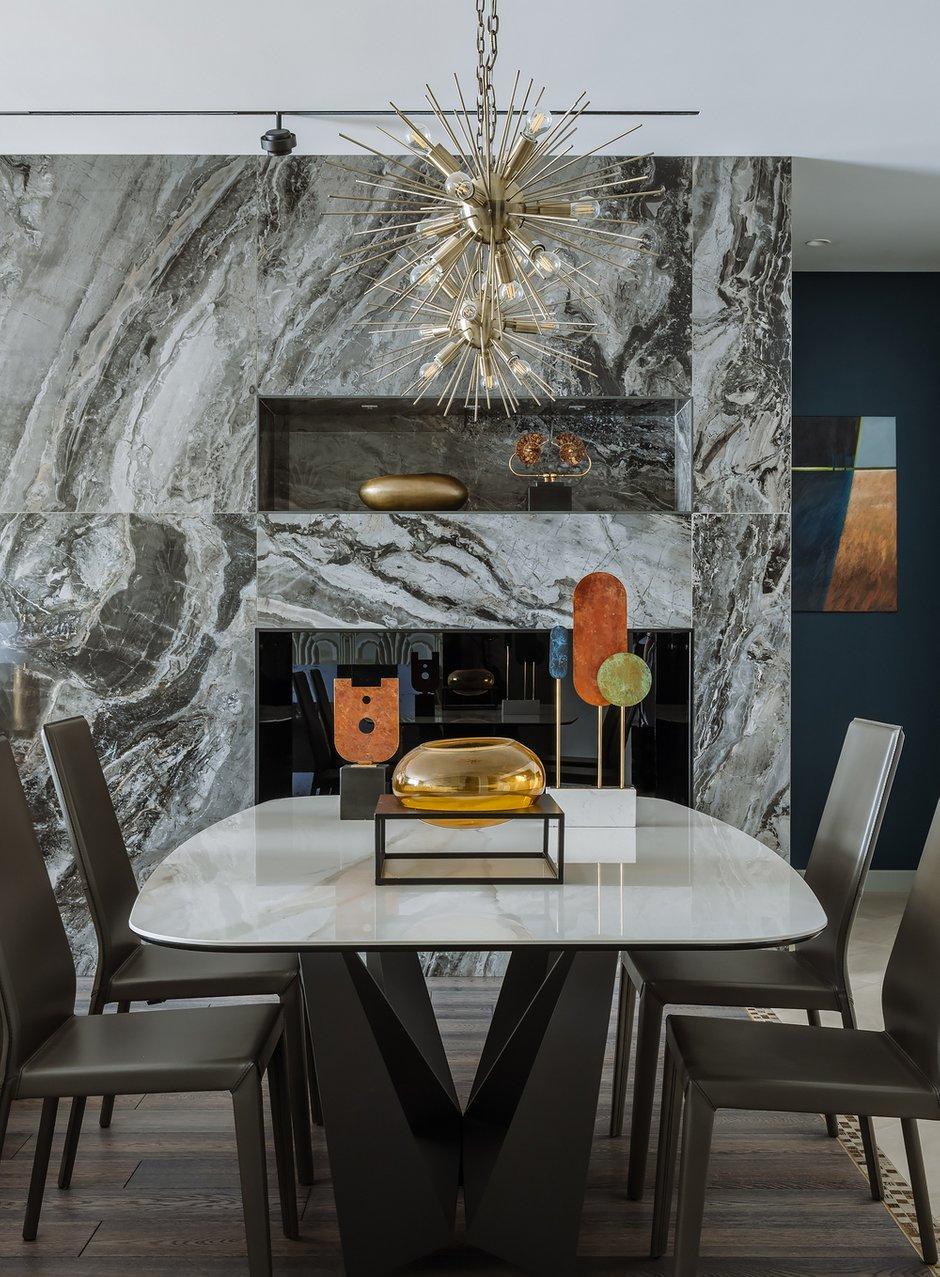 Фотография: Кухня и столовая в стиле Современный, Квартира, Проект недели, Москва, 4 и больше, Более 90 метров – фото на INMYROOM