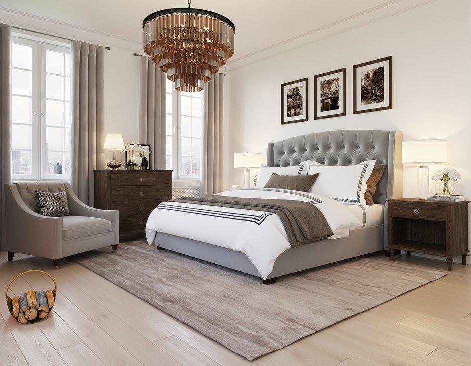 Фотография: Спальня в стиле Классический, Современный, Проект недели, Санкт-Петербург, Дзерасса Кахмазова – фото на INMYROOM