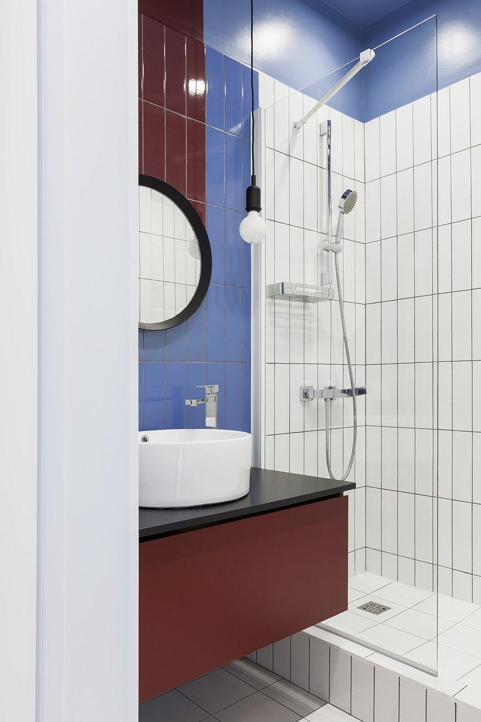Фотография: Ванная в стиле Современный, Квартира, Проект недели, Сталинка, 3 комнаты, 40-60 метров, Москав, Светлана Хабеева – фото на INMYROOM