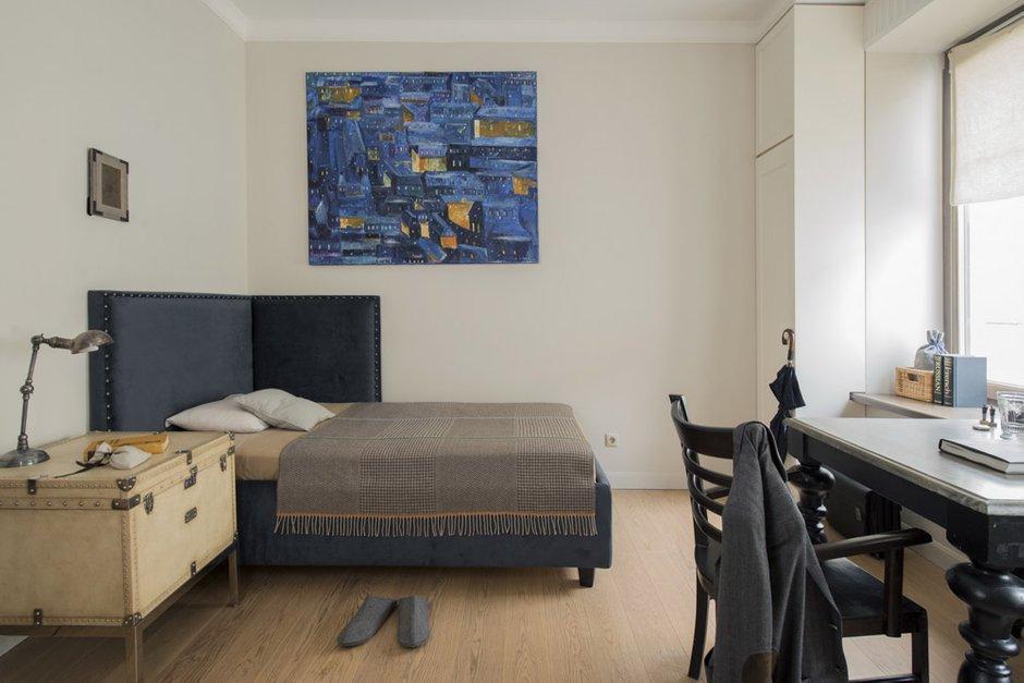 Фотография: Спальня в стиле Лофт, Декор интерьера, Мебель и свет, Проект недели, Лена Ленских – фото на INMYROOM