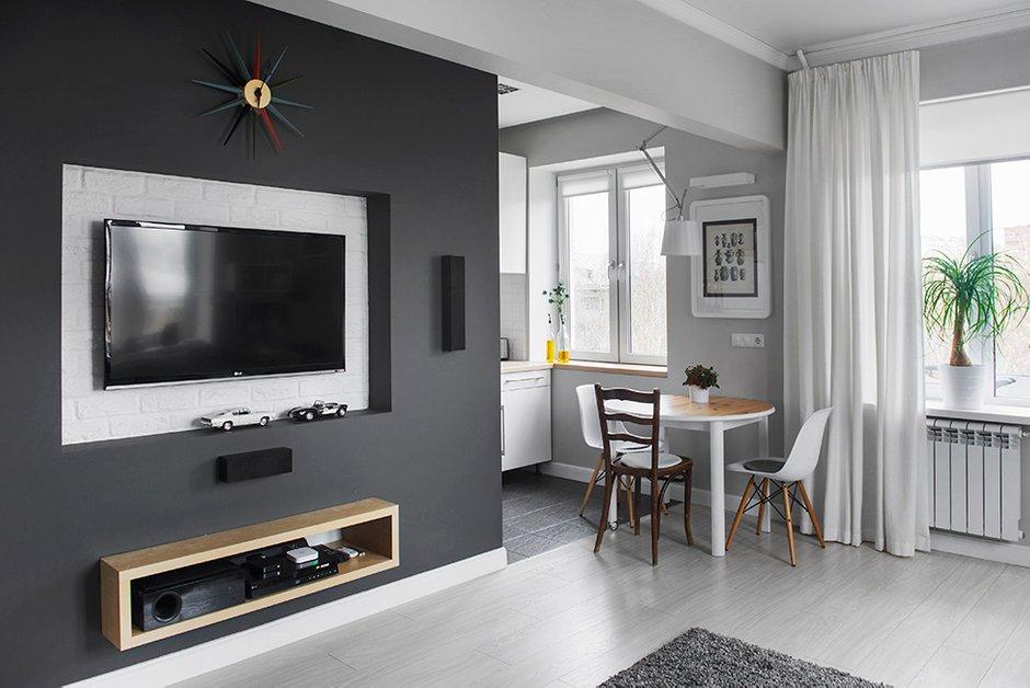 Фотография: Кухня и столовая в стиле Современный, Малогабаритная квартира, Квартира, Дома и квартиры, IKEA, Проект недели, Хрущевка – фото на INMYROOM
