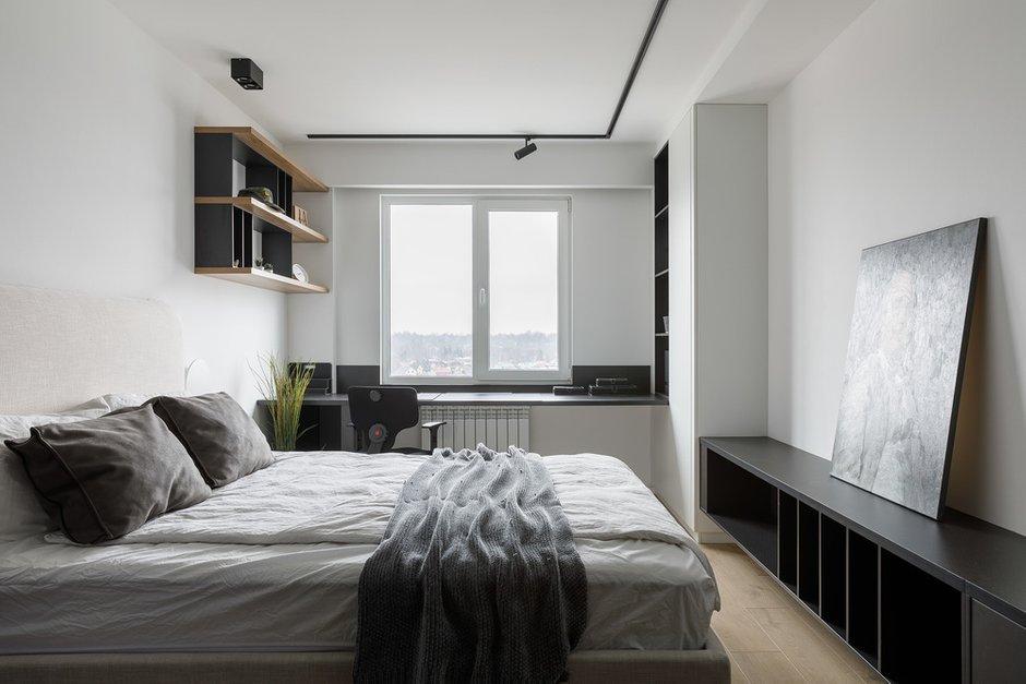 Фотография:  в стиле , Лофт, Минимализм, Проект недели, Санкт-Петербург, 2 комнаты, 60-90 метров, Dinamika Architects – фото на INMYROOM