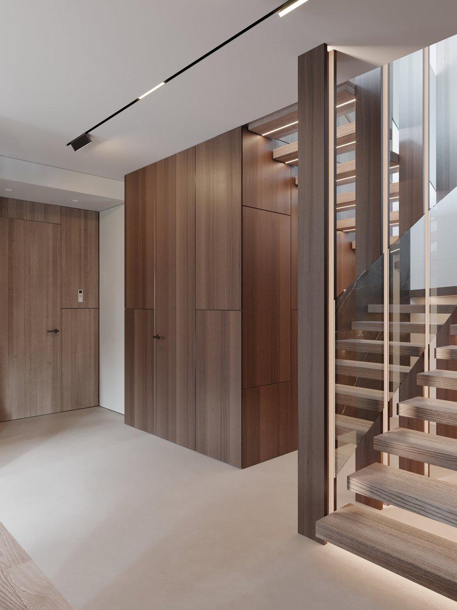 Фотография: Прихожая в стиле Современный, Квартира, Проект недели, 4 и больше, Более 90 метров, Ab-architects, Level Barvikha – фото на INMYROOM