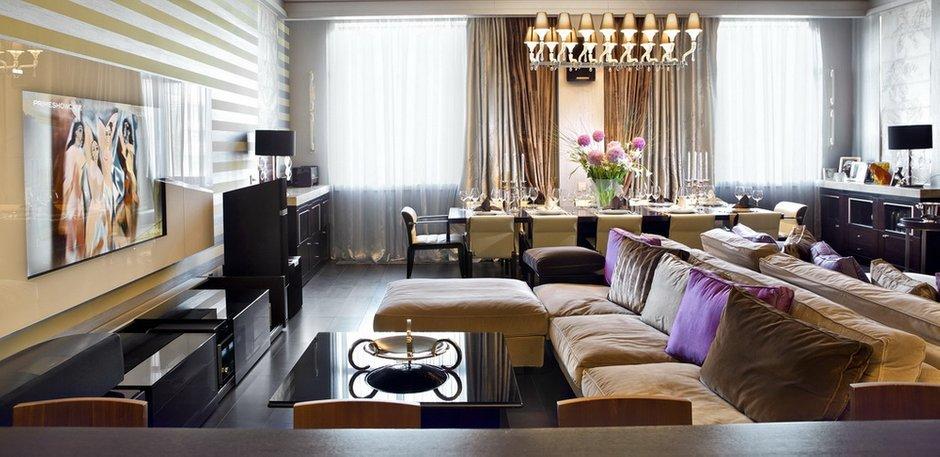 Фотография: Гостиная в стиле Классический, Современный, Декор интерьера, Квартира, Miele, Дома и квартиры – фото на INMYROOM