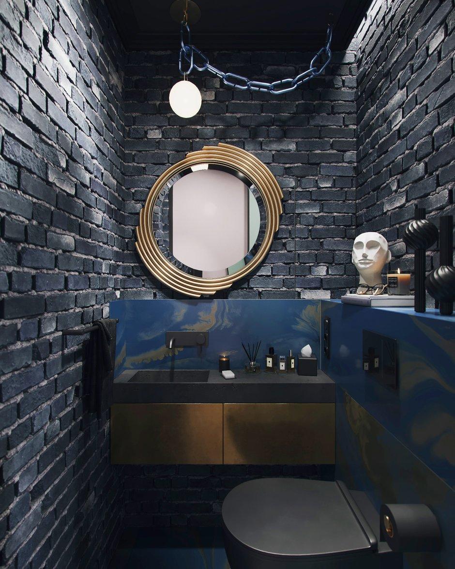 Фотография: Ванная в стиле Современный, Эклектика, Декор интерьера, Квартира, Проект недели, Москва, 3 комнаты, 60-90 метров, Алена Горская – фото на INMYROOM