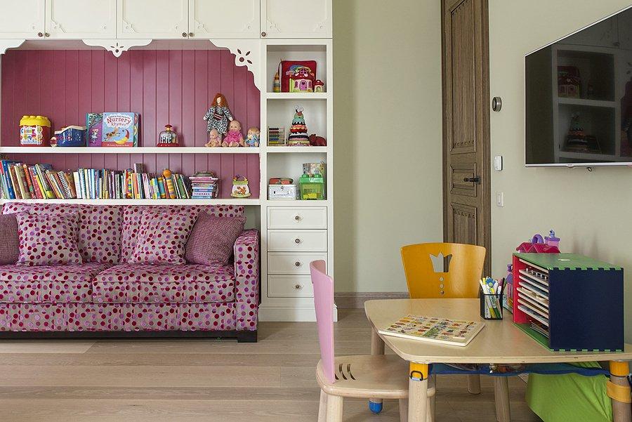 Фотография: Детская в стиле Прованс и Кантри, Эклектика, Квартира, Дома и квартиры, Проект недели – фото на INMYROOM