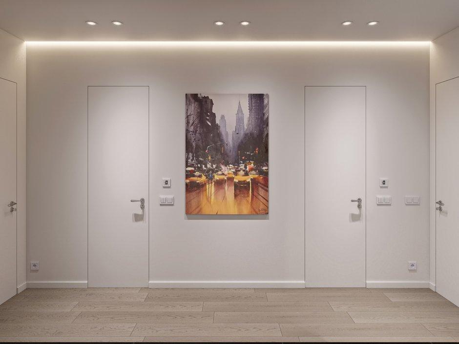 Фотография: Прихожая в стиле Современный, Квартира, Проект недели, Москва, 3 комнаты, 60-90 метров, Более 90 метров, Бюро «Общая Площадь» – фото на INMYROOM