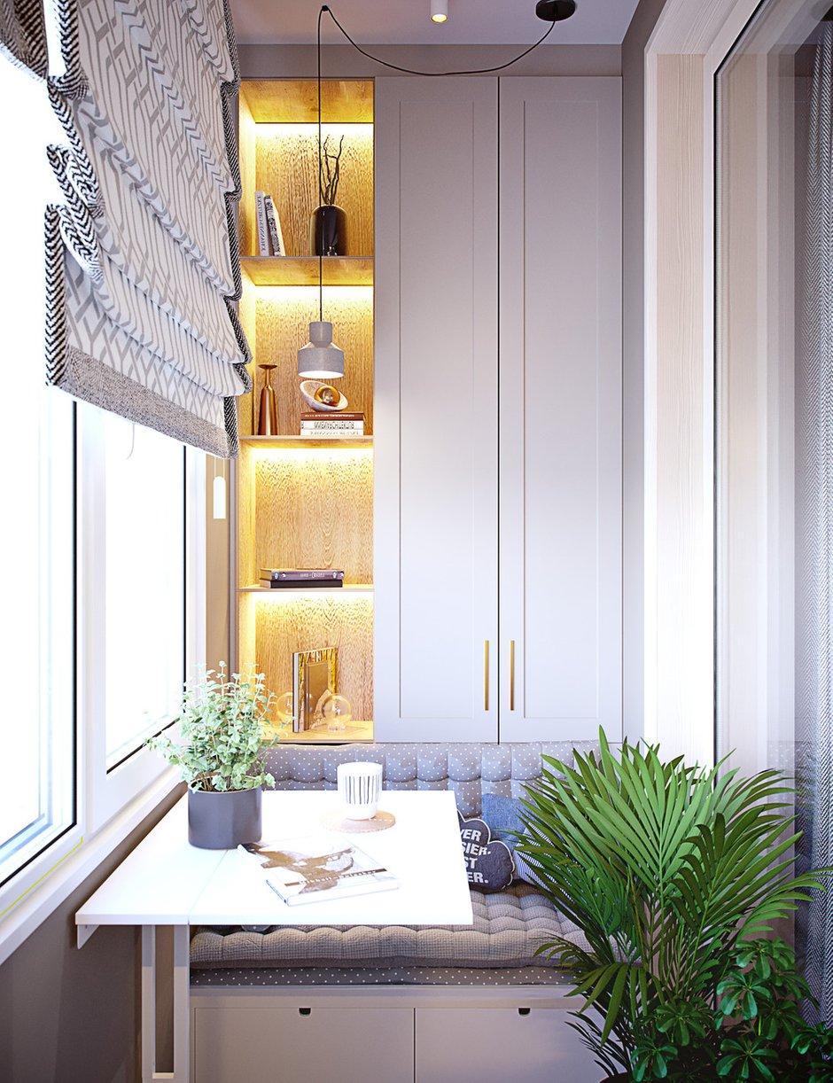Фотография: Балкон в стиле Современный, Квартира, Проект недели, Москва, 4 и больше, Более 90 метров, Little Space – фото на INMYROOM