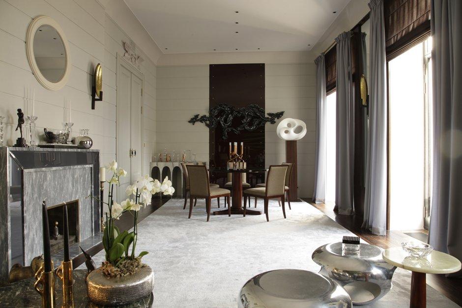 Фотография:  в стиле , Квартира, Проект недели, Санкт-Петербург, Марина Филиппова – фото на INMYROOM