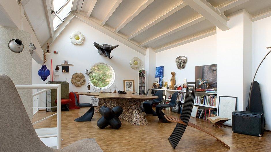 Фотография: Гостиная в стиле Эклектика, Интервью, Правила дизайна, Фабио Новембре – фото на INMYROOM