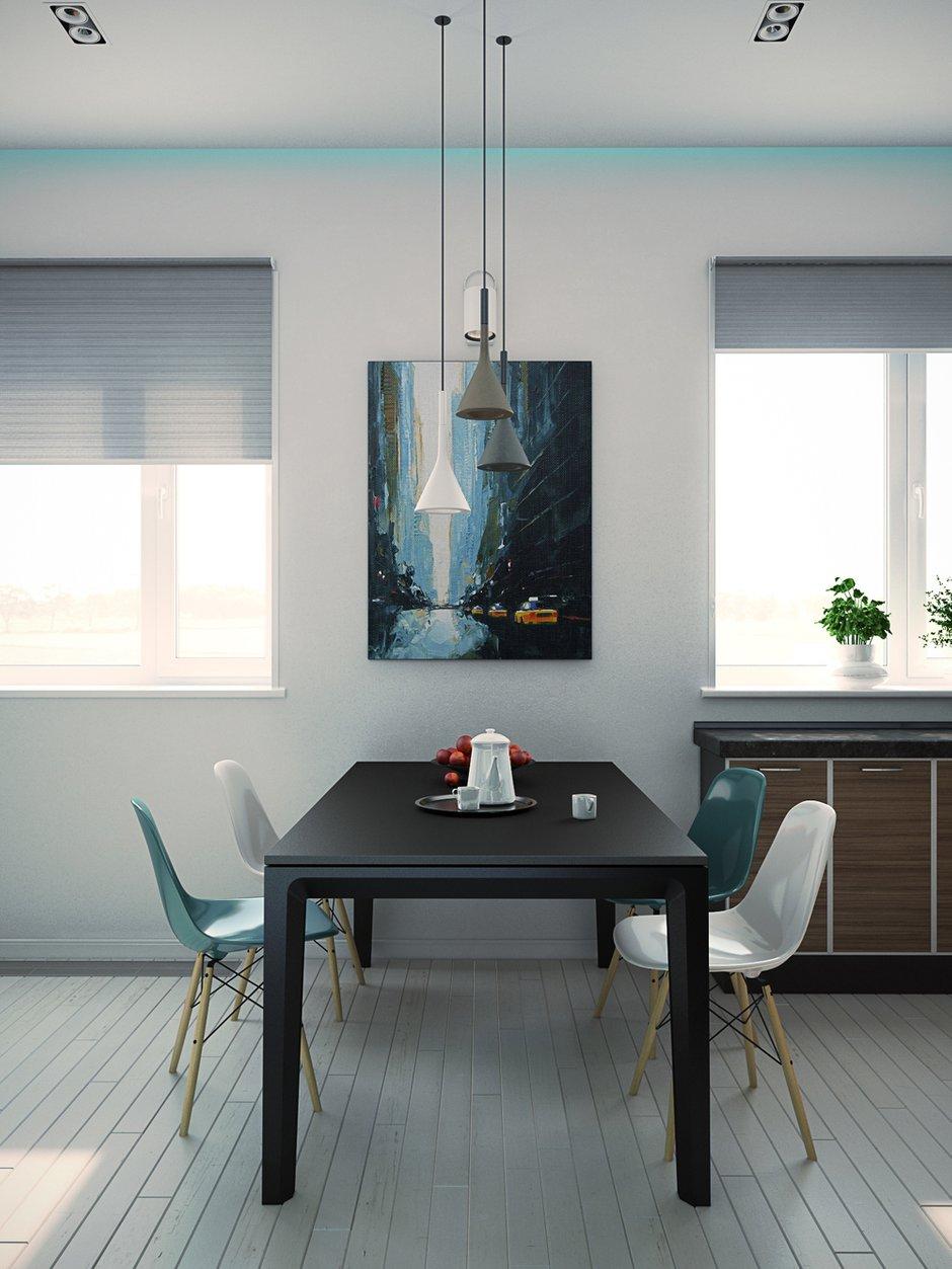 Фотография: Кухня и столовая в стиле Современный, Декор интерьера, Квартира, Tashoti, Дома и квартиры, Проект недели – фото на InMyRoom.ru