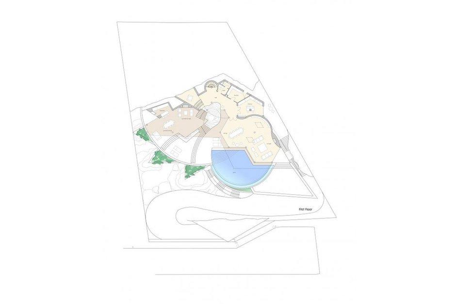 Фотография: Планировки в стиле , Декор интерьера, Дом, Испания, Дома и квартиры – фото на INMYROOM