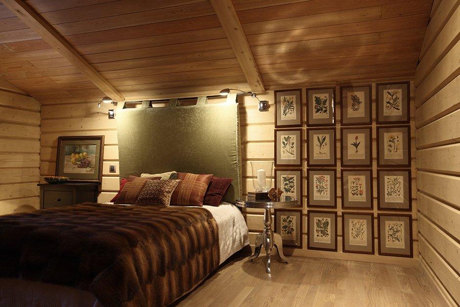 Фотография: Спальня в стиле Прованс и Кантри, Современный, Декор интерьера, Дом, Fabbian, Дома и квартиры, IKEA, Шале – фото на INMYROOM
