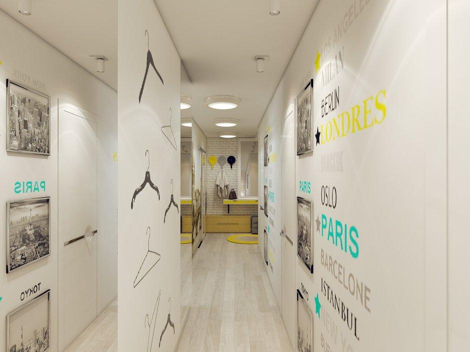 Фотография: Прихожая в стиле Скандинавский, Современный, Квартира, Дома и квартиры, IKEA, Проект недели – фото на INMYROOM