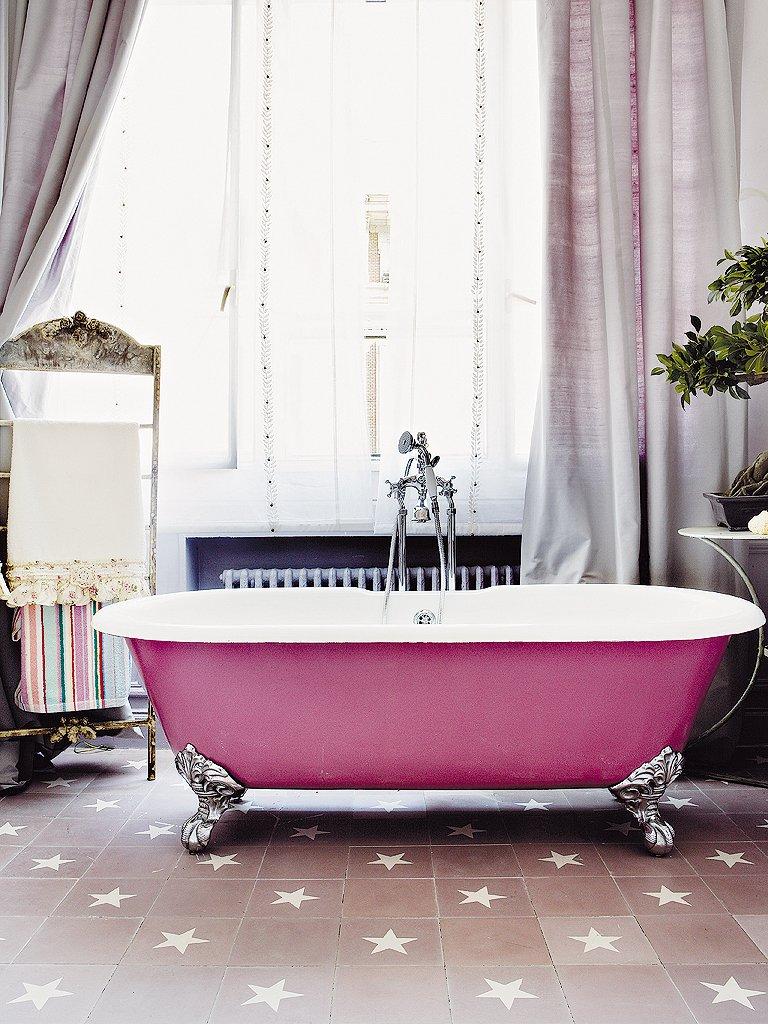 Фотография: Ванная в стиле , Детская, Интерьер комнат, Прованс, Проект недели, Шебби-шик, Винтаж – фото на INMYROOM