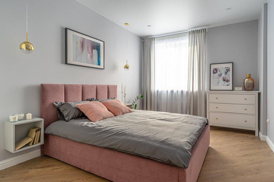 Фотография: Спальня в стиле Современный, Квартира, Проект недели, Москва, 3 комнаты, 60-90 метров, Марьям Разуваева – фото на INMYROOM